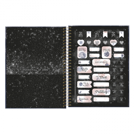 Agenda planner espiral Magic 2020 - Tilibra