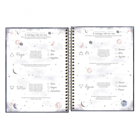 Agenda planner espiral semanal Magic 2021 - Tilibra
