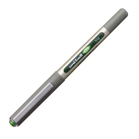 Caneta esferográfica 0.7 Eye Fine - UB-157 - Verde Claro - Uni-Ball