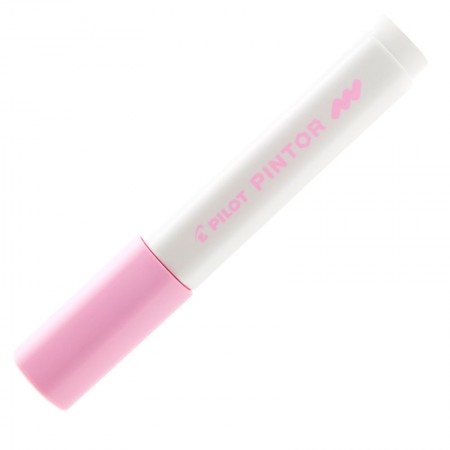 Pincel marcador Pintor ponta média 1.4mm - rosa pastel  - Pilot