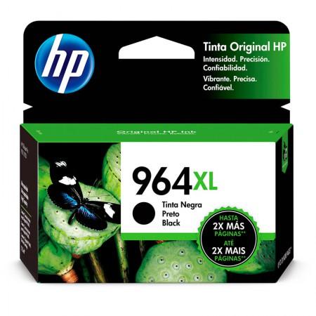 Cartucho HP Original (964XL) 3JA57AL - preto rendimento 2000 páginas