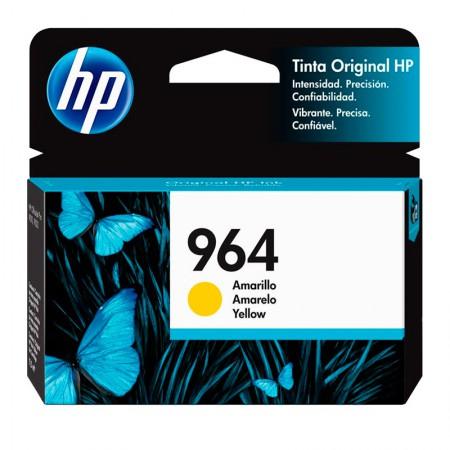 Cartucho HP Original (964) 3JA52AL - amarelo rendimento 700 páginas