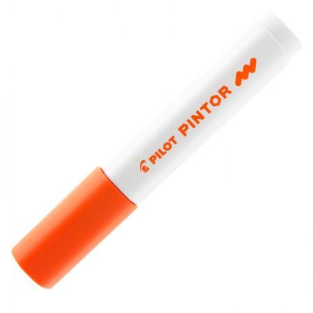 Pincel marcador Pintor ponta média 1.4mm - laranja - Pilot