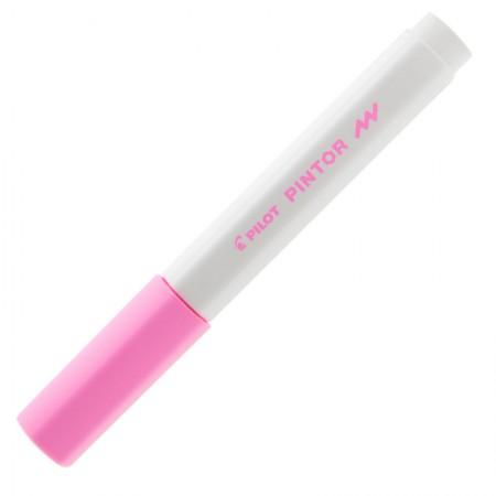 Pincel marcador Pintor ponta fina 1.0mm - rosa - Pilot