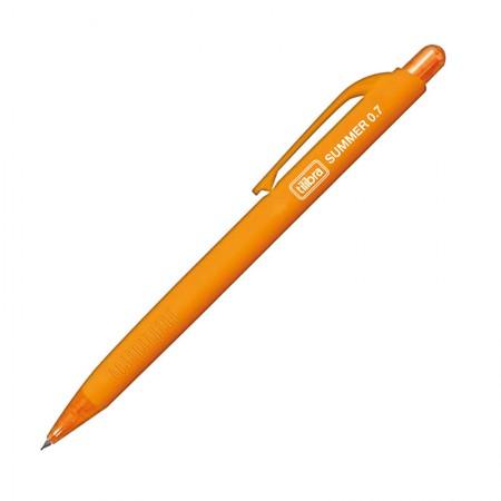Lapiseira 0.7mm Summer - laranja - Tilibra