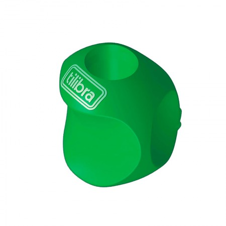 Apoio grip ergonômico para lapis - 301337 - unidade -  Verde - Tilibra
