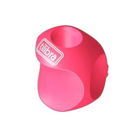 Apoio grip ergonômico para lapis - 301337 - unidade -  Rosa - Tilibra