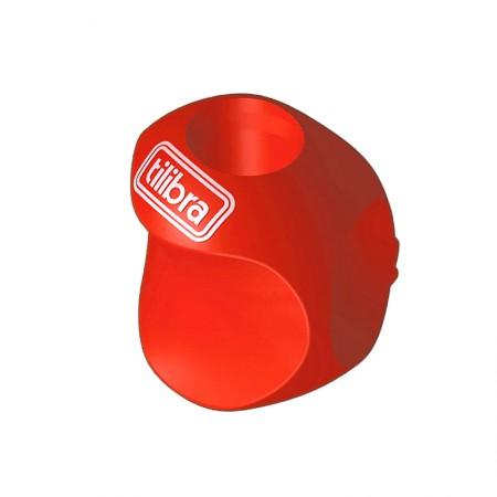 Apoio grip ergonômico para lapis - 301337 - unidade -  Vermelho - Tilibra