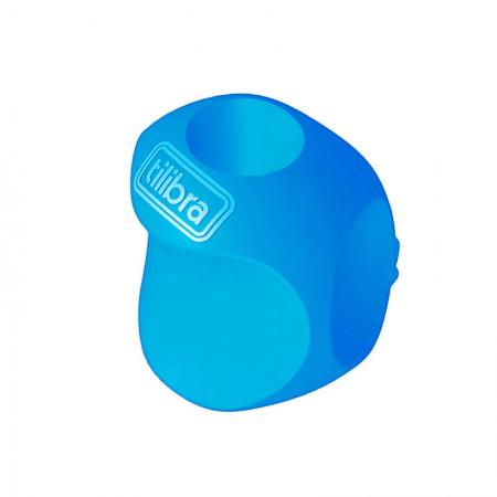Apoio grip ergonômico para lapis - 301337 - unidade -  Azul - Tilibra