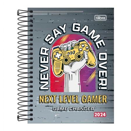 Agenda espiral diária Pepper Masculina 2020 - Skate - Tilibra