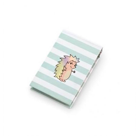 Caderneta capa dura espiral - Riccio Listrado - 6009-1 - 80 folhas - Ótima