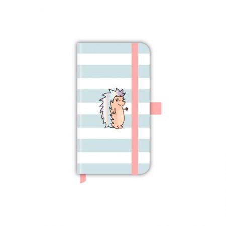 Caderno capa dura Papertalk Slim Riccio Listrado - 5964-4 - pontilhado - Ótima