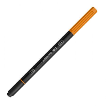 Caneta Pincel dual Brush Aquarelável - (18) - Laranja Escuro - Cis
