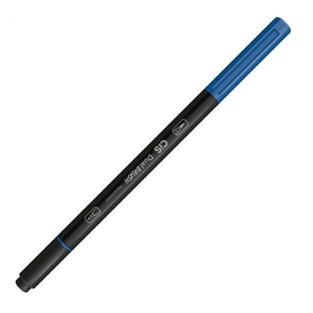 Caneta Pincel dual Brush Aquarelável(04)Azul Cobalto Cis