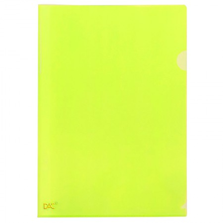 Pasta em L A4 - Amarelo - 910PP/AM - Dac