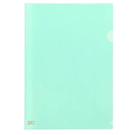 Pasta em L A4 - Verde pastel - 810PP/VD - Dac
