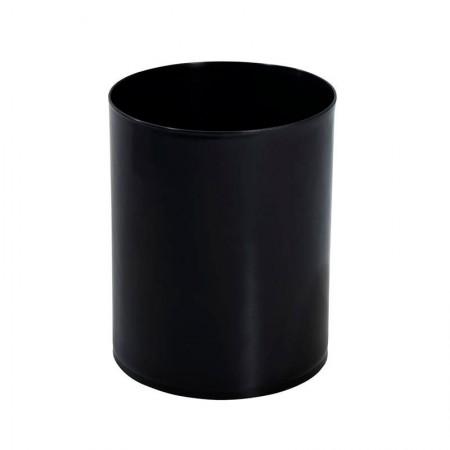 Cesto de lixo plástico preto - EB1 - 12 Litros - Jsn