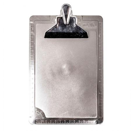 Prancheta 1/2 ofício - metalizada prata - 3008.O - Dello