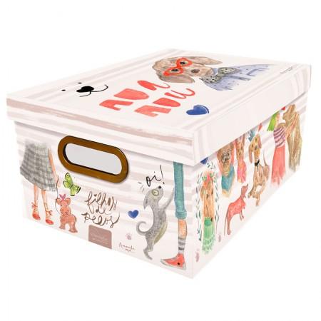Caixa Organizadora média cachorro - 2214.01 - Dello