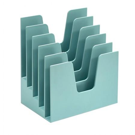 Organizador para documentos verde - 5 divisões - 225.6 - Acrimet
