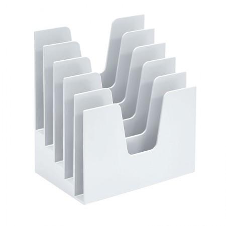 Organizador para documentos branco 5 divisões Acrimet