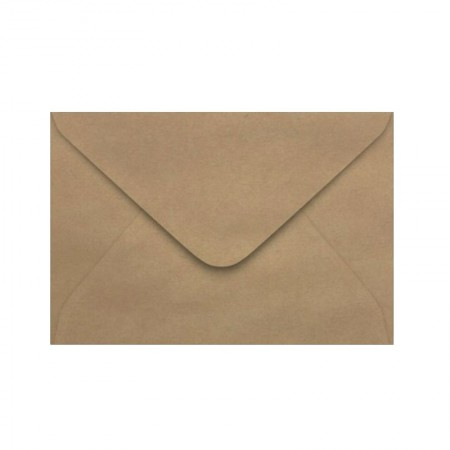 Envelope Color Plus Kraft Natural 160x235mm 100und Scrity
