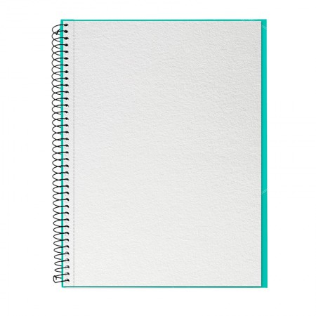 Caderno universitário profissional Desenho sem pauta - 40 folhas - Verde Tifany - Canson
