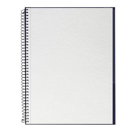 Caderno universitário profissional Desenho sem pauta - 40 folhas - Azul Marinho - Canson