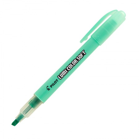 Pincel marca texto Lumi Color Soft - Verde Pastel - Pilot