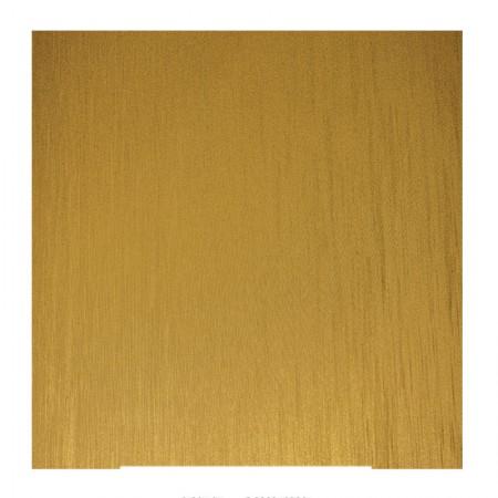 Adesivo Aço escovado ouro rolo 2mts 100725 Contact