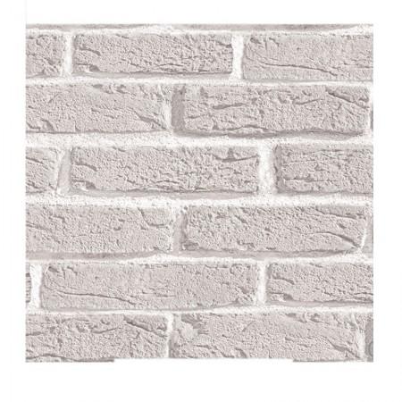 Adesivo Tijolo Branco - rolo com 2 metros - 240061 - Contact