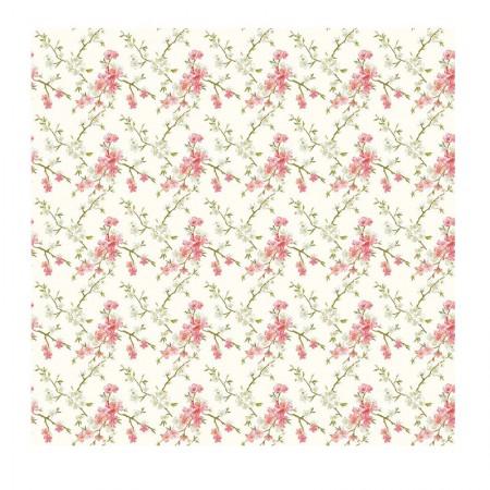 Adesivo Flor de cerejeira - rolo com 2 metros - 240041 - Con-Tact
