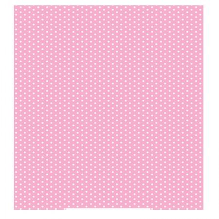 Adesivo Poa rosa bebe - rolo com 2 metros - 220095 - Con-Tact