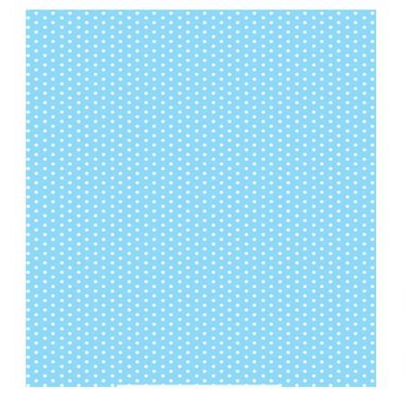 Adesivo Poa Azul Bebê - rolo com 2 metros - 220105 - Contact