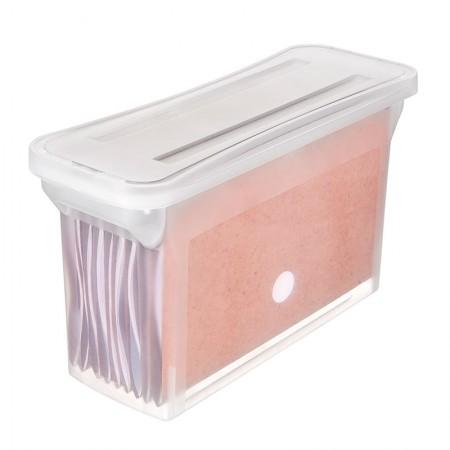 Arquivo estreito empilhável cristal - com 5 pastas suspensas - OR70810 - Ordene
