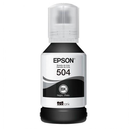 Refil Epson Ecotank Original (504) T504120 - preto 7500 páginas