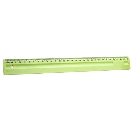 Régua plástica 30cm - verde pistache - 3112.V - Dello
