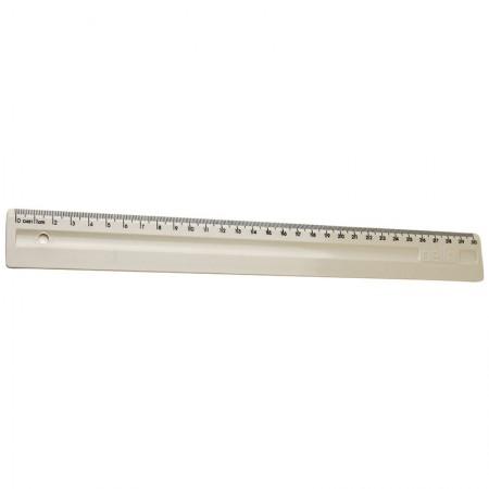 Régua plástica 30cm - cinza  - 3112.G - Dello