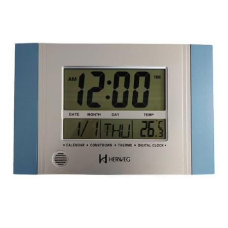 Relógio de parede digital 6472 - Herweg