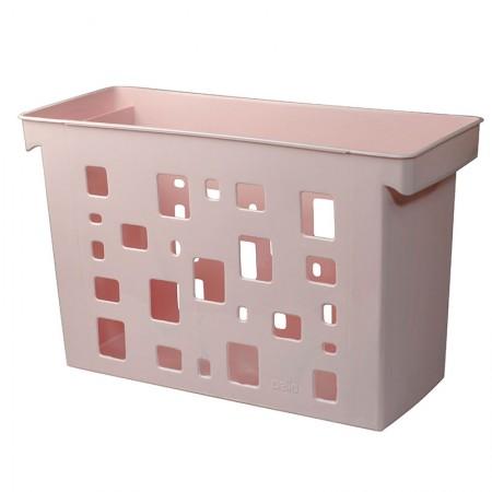Caixa arquivo Dellocolor - rosa pastel - 0329.W - sem pasta - Dello
