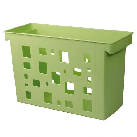 Caixa arquivo Dellocolor - verde pistache - 0329.V - sem pasta - Dello