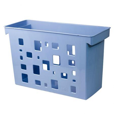 Caixa arquivo Dellocolor - azul pastel - 0329.B - sem pasta - Dello