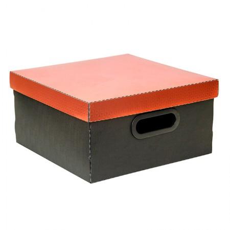 Caixa organizadora média protêa - cobre metalizado - 2198.CB - Dello