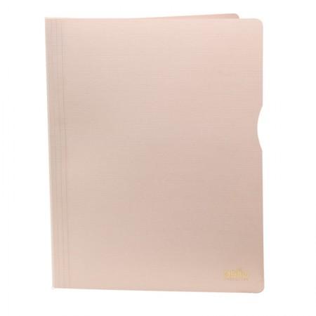 Pasta catálogo A4 30 plásticos executive rosa 6056W Dello