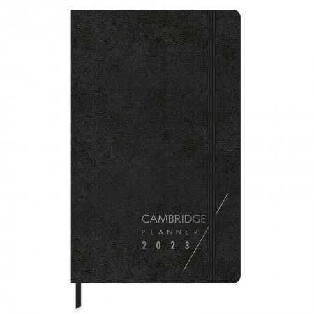 Agenda planner executiva costurada semanal Cambridge Fitto 2021 - Tilibra