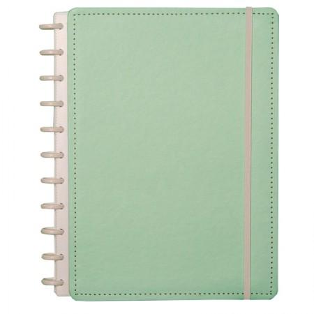 Caderno inteligente grande Verde Pastel - CIGD4038