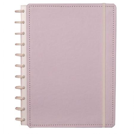Caderno inteligente grande Lilás Pastel - CIGD4036