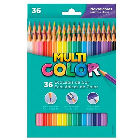 Lápis de cor 36 cores 11.3600N - Multicolor
