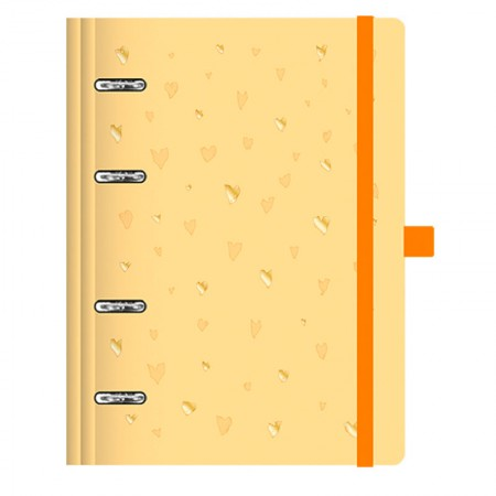 Planner Maxi Romantic Amarelo - 4411-4 - Ótima