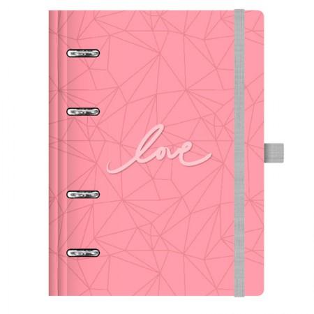 Planner Maxi Pink Stone Rosa - 4527-2 - Ótima